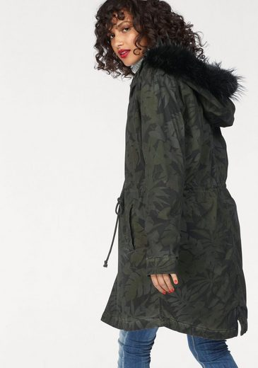 LTB Parka ZENILOF, im Allover-Design