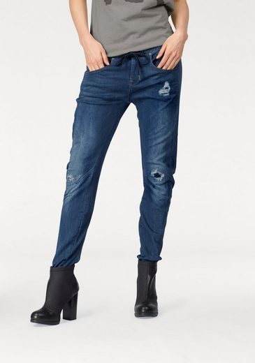 G-Star RAW Boyfriend-Jeans Arc 3D Sport Low Boyfriend Wmn, mit Destroyed-Effekten