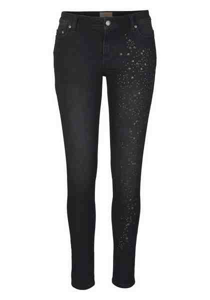 Malvin 5-Pocket-Jeans, mit tollem Nietendesign