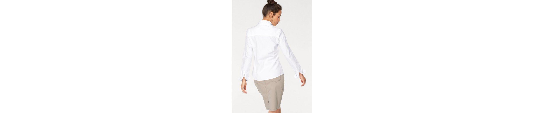 Tom Tailor Polo Team Hemdbluse, in klassischer Form mit aufgesetzter Brusttasche