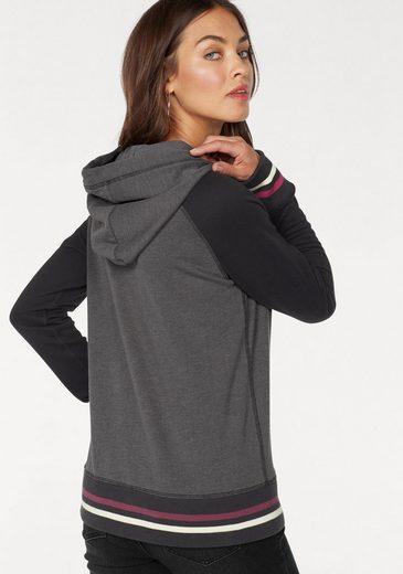 AJC Kapuzensweatshirt, mit großem Front-Print