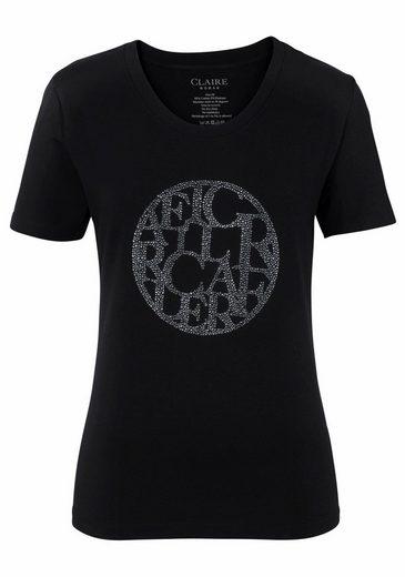 CLAIRE WOMAN T-Shirt, mit Glitzersteinen