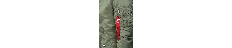 Alpha Industries Langjacke MA-1 Coat Wmn, mit konrastfarbenem Futter