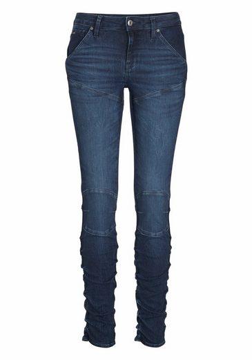 G-Star RAW Skinny-fit-Jeans 5620 Staq Mid Skinny, mit Knieabnähern