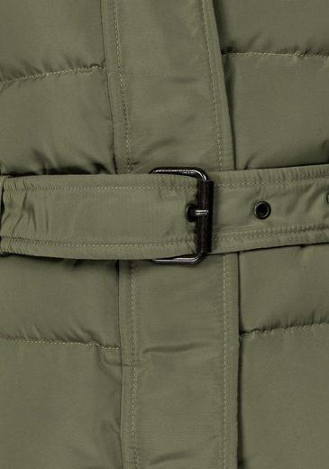 Pepe Jeans Daunenjacke CLARIS, mit abnehmbarem Fellimitat