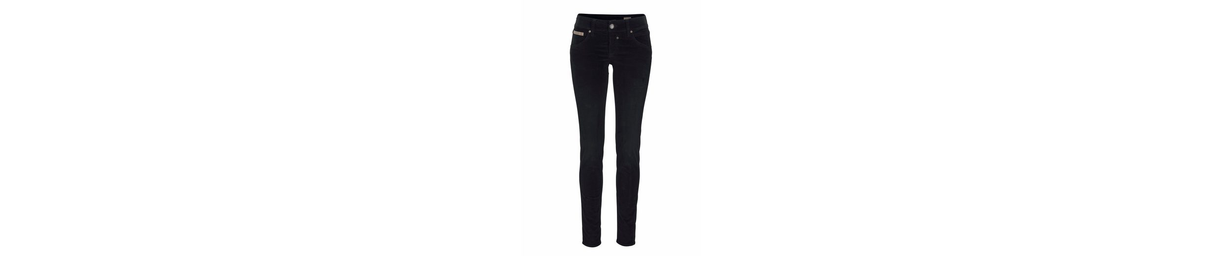 Herrlicher Slim-fit-Jeans TOUCH SLIM, in Velvet-Optik