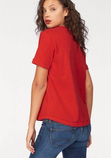 Bench T-shirt, Mit Logo-applikation