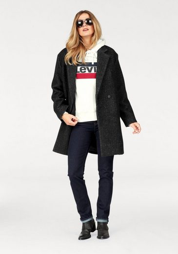 Levi's® Wollmantel Carina Coat, Egg-Shape