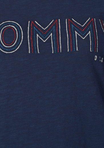 Hilfiger Denim Langarmshirt, mit Stickerei