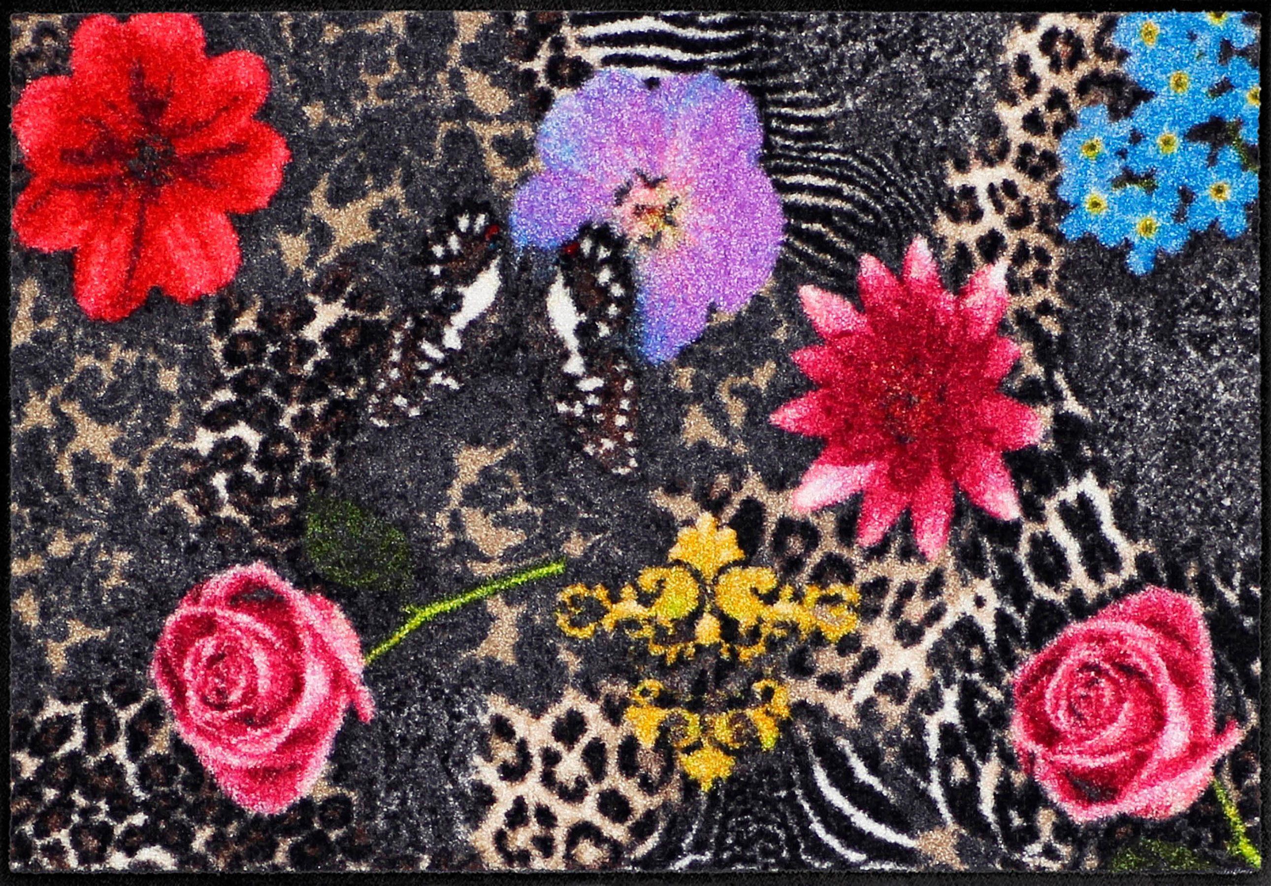 Fußmatte »Animal Patch«, Salonloewe, rechteckig, Höhe 6 mm
