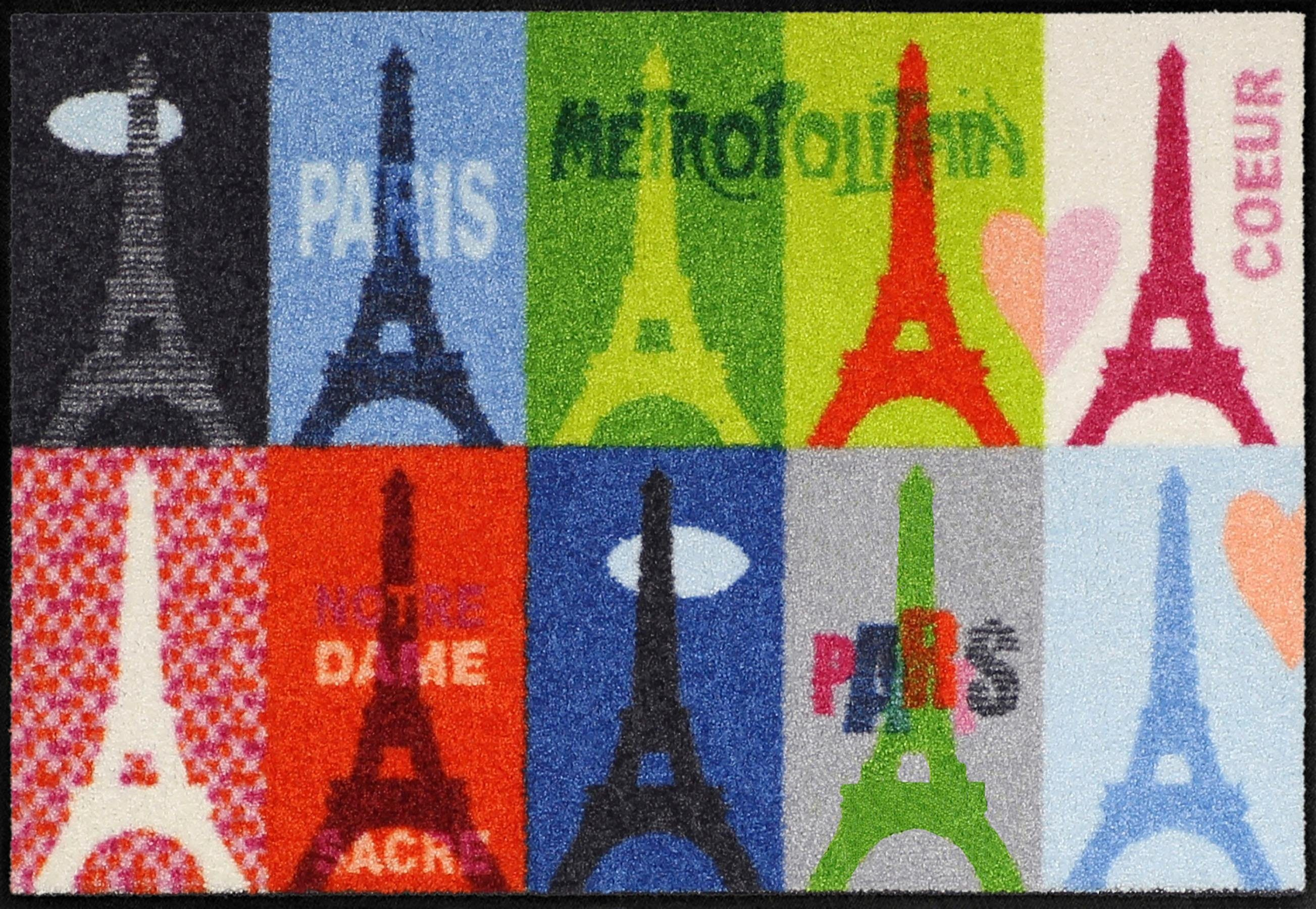Fußmatte »Paris Conn. Patch«, Salonloewe, rechteckig, Höhe 6 mm