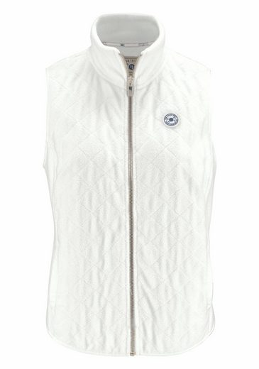 Tom Tailor Polo Team Short Vest, Stitching With Diamond-shaped