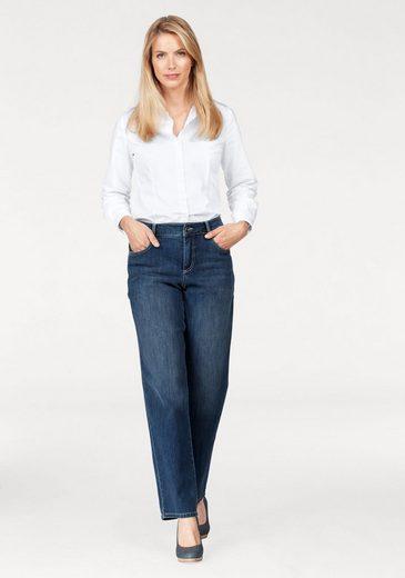 MAC Bequeme Jeans Grazia, etwas weiter geschnitten