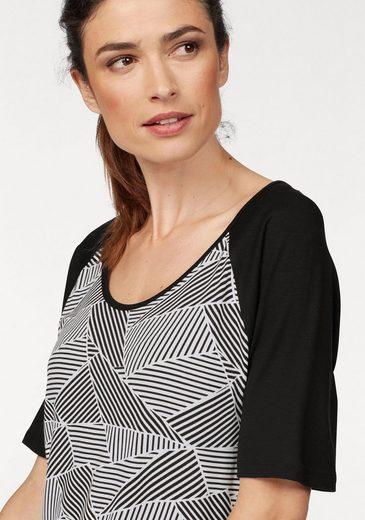 Laura Scott T-Shirt, mit trendigem Druck