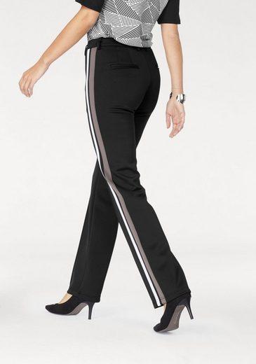 Laura Scott Anzughose, mit Go-Faster Streifen an der Seite