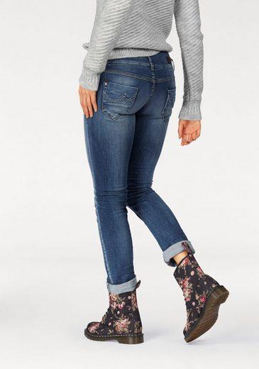 LTB Straight-Jeans JONQUIL, mit Doppelknopf-Bund