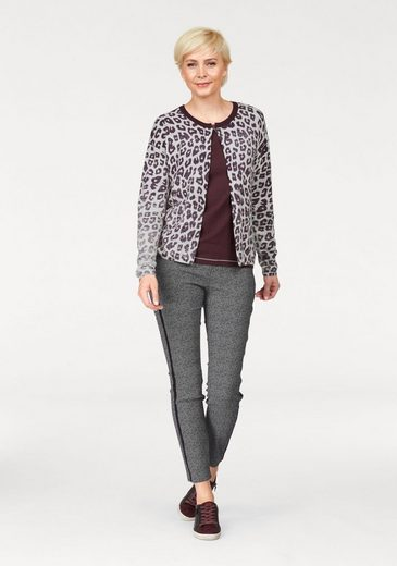 Toni Sweater, With Pressure In Leo-optic And Cashmere