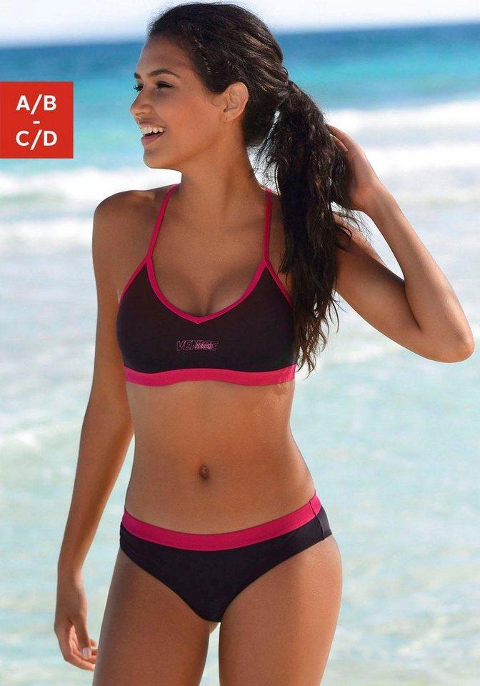 Bademode - Venice Beach Bustier Bikini › rosa  - Onlineshop OTTO