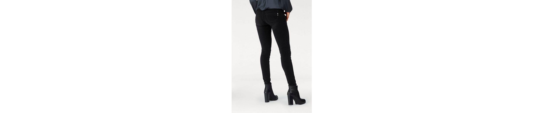Herrlicher Slim-fit-Jeans TOUCH SLIM, in Velvet-Optik