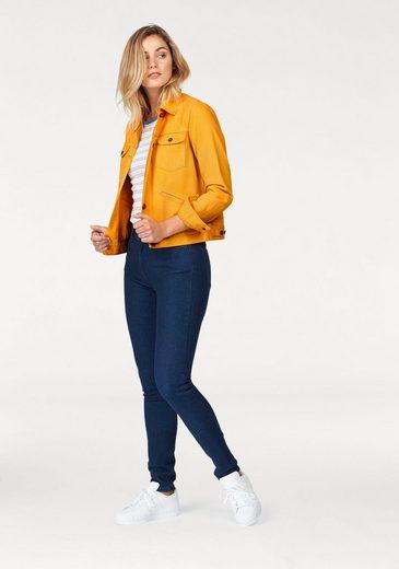 Wrangler Rundhalsshirt, im trendy Retro-Look