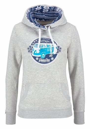 Van One CLASSIC CARS Sweatshirt ASPEN, mit angesagtem Norweger-Strick