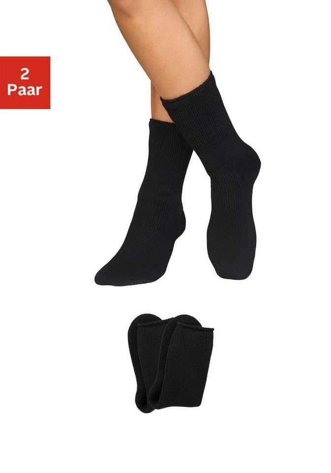 Heat Keeper Thermosocken (2 Paar) | Sportbekleidung > Funktionswäsche > Thermosocken | Schwarz | HEAT keeper