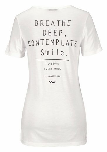 LTB T-Shirt WOYIBA, mit Rückenprint