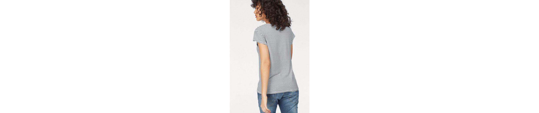 Please Jeans T-Shirt, mit Logo-Print