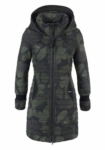 khujo Steppjacke Daily, mit Allover-Print