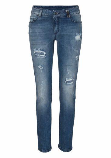 Sportalm Kitzbühel Straight-Jeans, mit Pailletteneinsatz