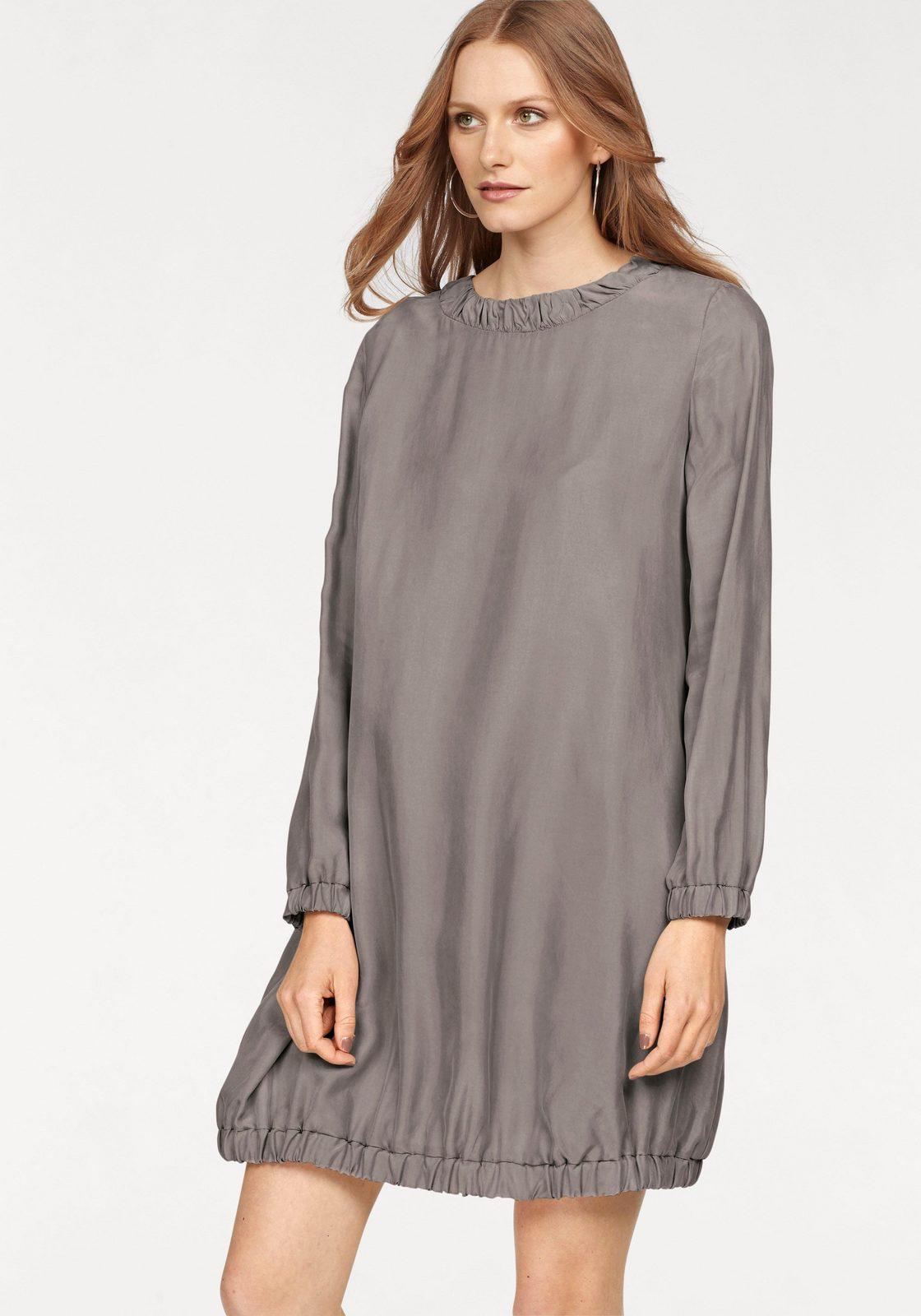 STEFANEL Blusenkleid, mit gerafften Bündchen jetztbilligerkaufen