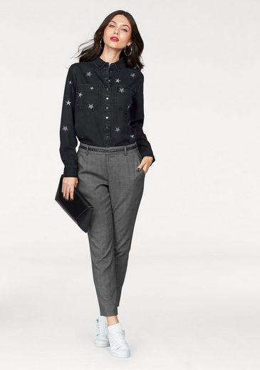 Guess Jean Blouse Scilla, With Embroidery