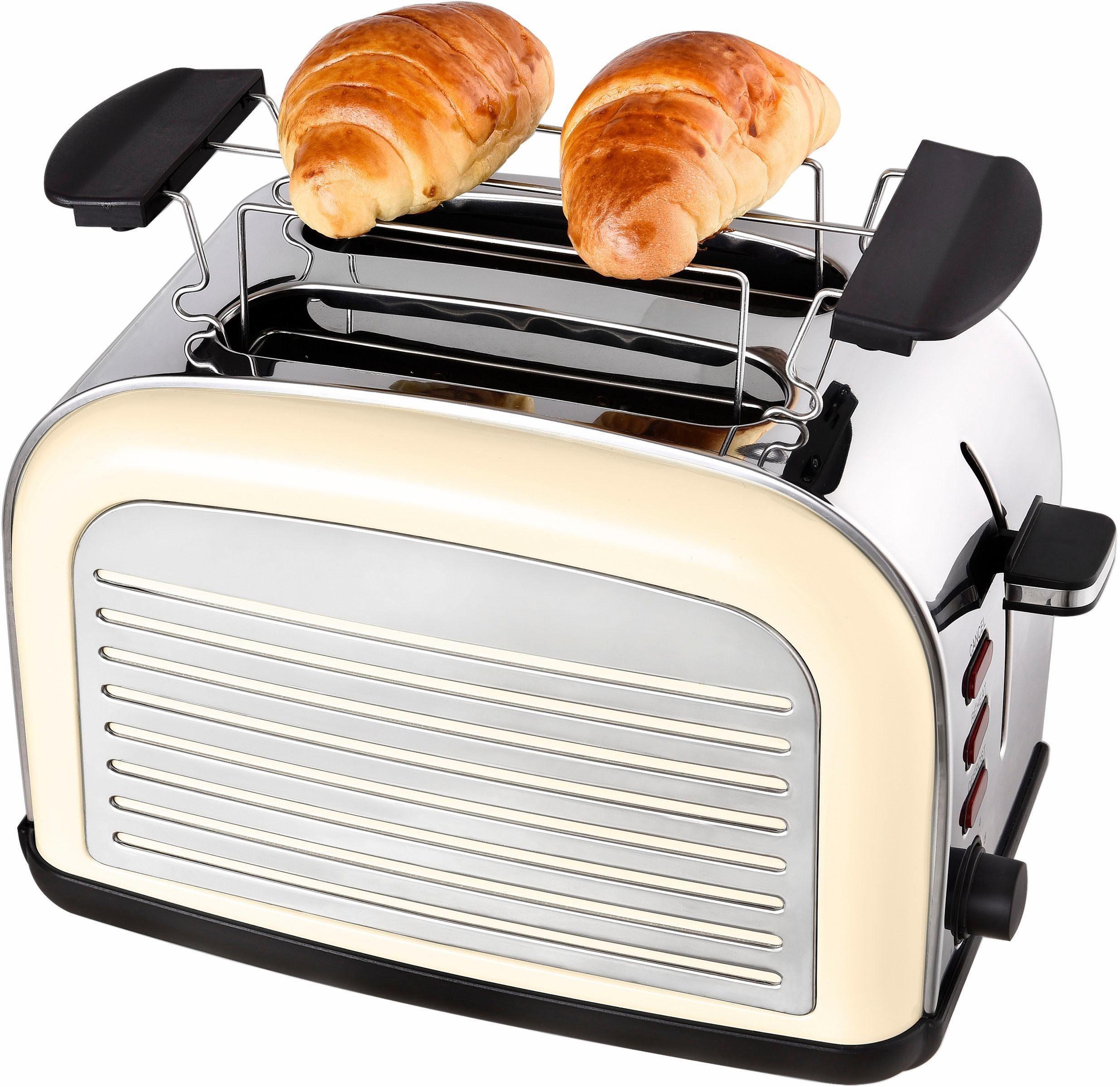Team Kalorik Toaster TKG TO 2500, für 2 Scheiben, 1050 W