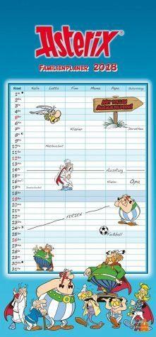 Kalender »Asterix Familienplaner 2018«
