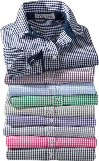 Collection L. Bluse mit leicht abgerundetem Saum