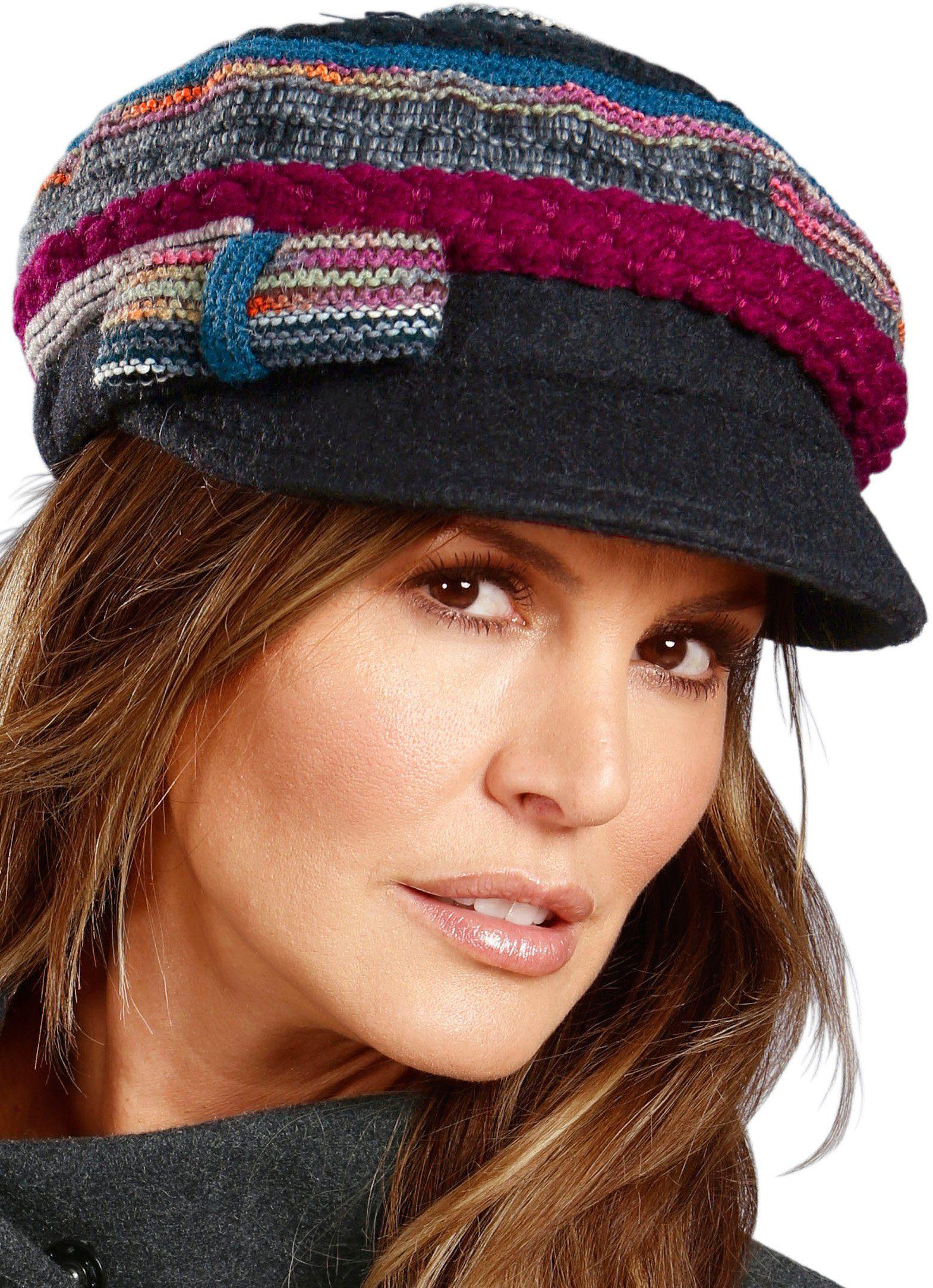 Wegener Mütze mit Schleife