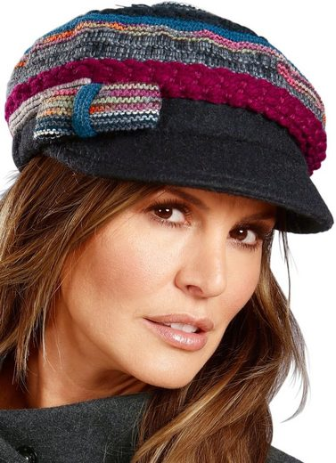 Casual Looks Mütze mit Schleife