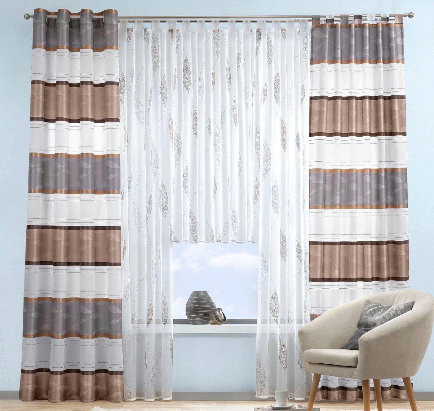deko schal schlaufen preisvergleiche erfahrungsberichte und kauf bei nextag. Black Bedroom Furniture Sets. Home Design Ideas