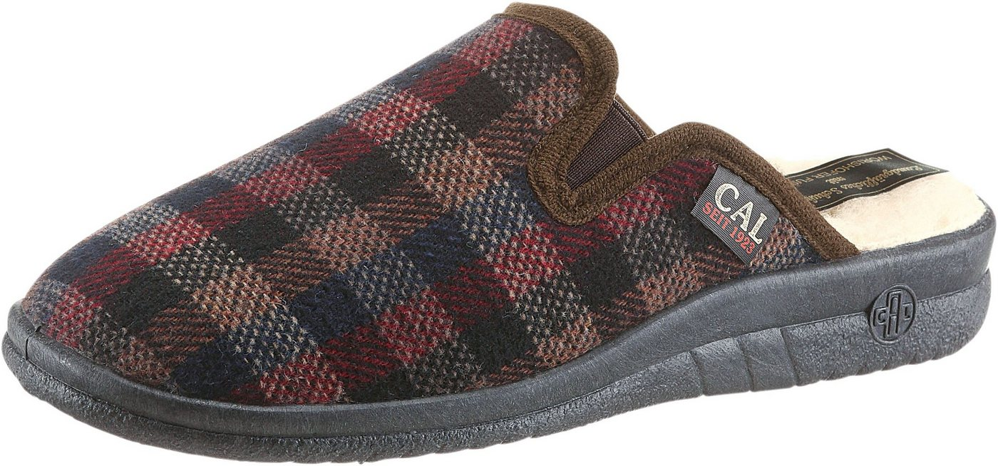 Landgraf Pantoffel mit Wörishofer Fußbett | Schuhe > Hausschuhe | Braun | Classic