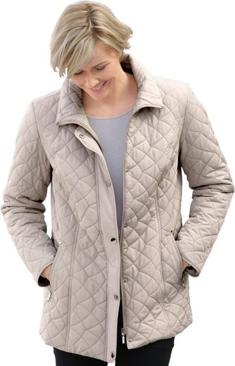 Classic Jacke mit Steppmuster