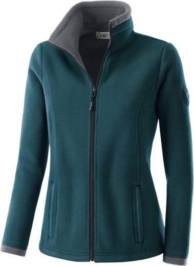Collection L. Fleece-Jacke mit Teddyfleece innen