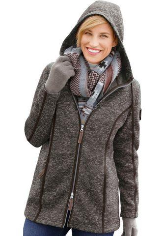 CASUAL LOOKS Флисовая куртка с капюшон