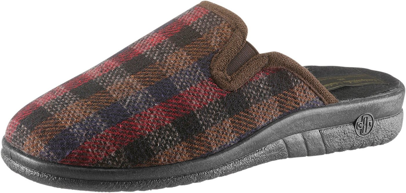 Landgraf Pantoffel mit Wörishofer Fußbett | Schuhe > Hausschuhe > Pantoffeln | Braun | Classic