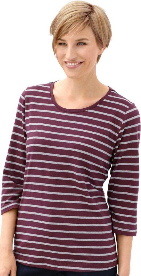 Damen Collection L. Shirt mit Rundhals-Ausschnitt  | 08681509011777