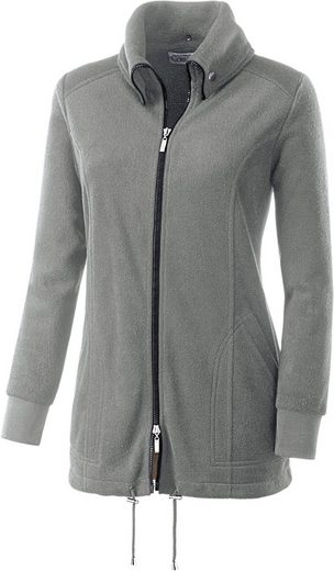 Collection L. Fleece-Jacke mit Antipilling-Ausrüstung