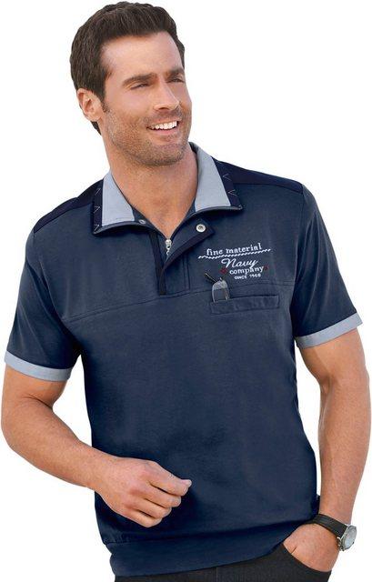 marco donati -  Kurzarm-Shirt aus reiner Baumwolle