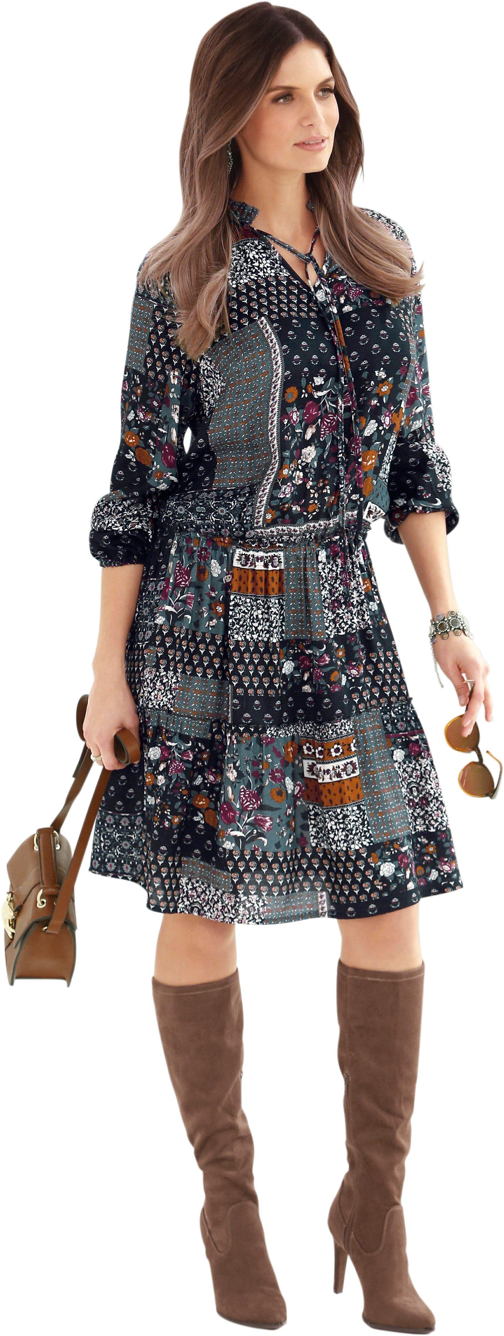 Alessa W. Kleid aus reiner Viskose