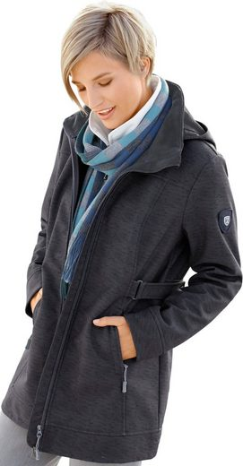 Collection L. Softshelljacke mit kuscheligem Fleece