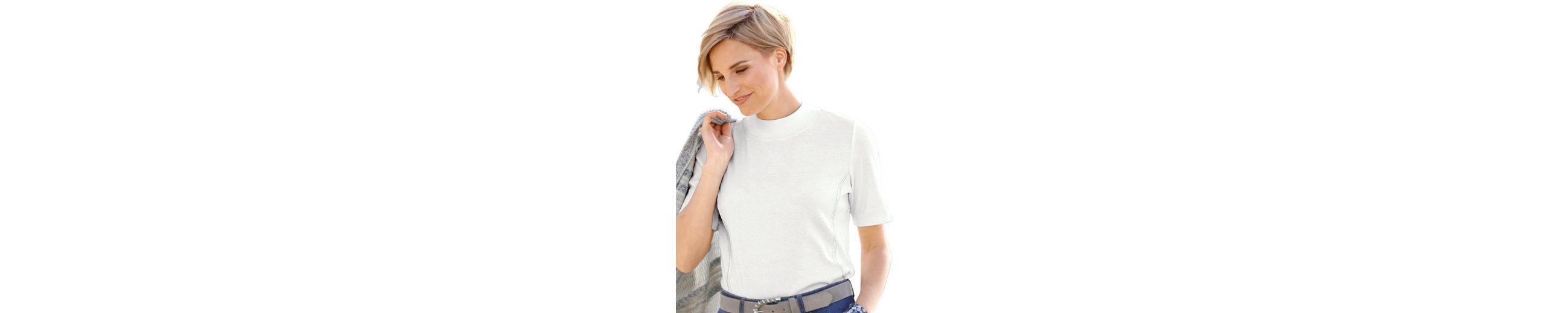 Klassische Online Collection L. Shirt aus reiner Baumwolle Billig 2018 Neu Liefern Billige Online KMW2m71M