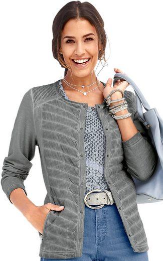 Classic Inspirationen Shirtjacke aus reiner Baumwolle